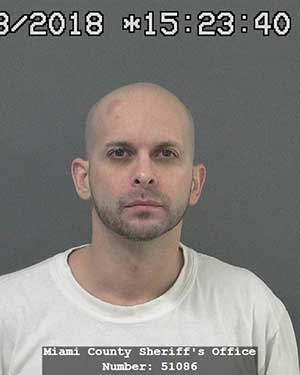 Arrest photo of Jason Jones, 38 of Kokomo, IN