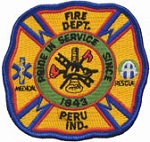 Peru Fire Department Logo
